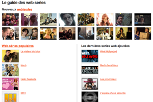 Guide des web-séries